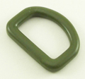 1-Inch-Wide Olive Drab D-Rings