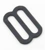 Metal Single-Bar Slides 3/4-Inch Wide Black