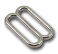 Metal Single-Bar Slides 1 Inch Wide