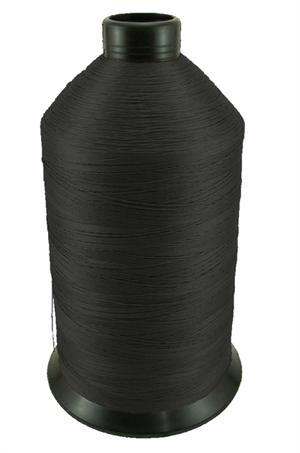 #92 BONDED NYLON THREAD BLACK - 4,200 YARD SPOOL