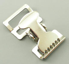 B-AC-01 1000 Silver Metal Alligator Buckle