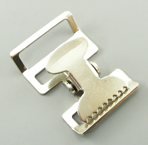 B-AC-01 1500 Silver Metal Alligator Buckle