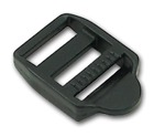 B-DB-01 0750 Black Plastic Double Bar Slide