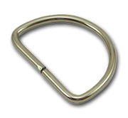 B-DR-02 1500 Silver Metal D-Ring