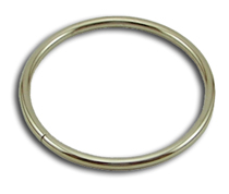 B-OR-02 2000 Silver Metal O-Ring