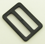 B-SB-09 1250 Black Heavy Metal Single Bar Slide