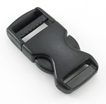 B-SR-02 0750 Black Side Release Buckle