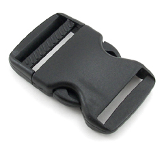 B-SR-02 1500 Black Side Release Buckle