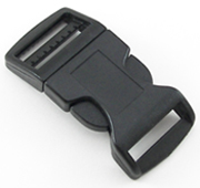 B-SR-03 1000 Black Contoured Side Release Buckle