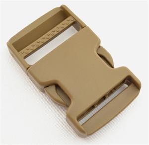 SINGLE-ADJUSTING MADE IN USA SIDE-RELEASE BUCKLES 1-1/2 INCH-WIDE MARPAT COYOTE