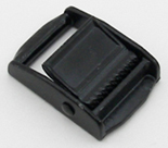 Cam Buckles Small Metal 1 Inch-wide Black By-the-bag