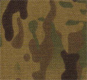 Cordura Coated Nylon Fabric 1000 Denier 58-60 Inches-wide Multicam By-the-roll