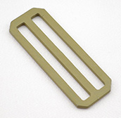 Metal Single-bar Slides Heavy 2 Inch-wide Tan 499 By-the-bag
