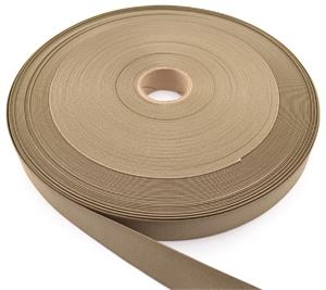 Mil Spec W-5664 Type Ii Class I Woven Flat Nylon Elastic Webbing 4-inch-wide Tan 499 By-the-roll