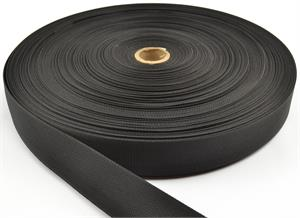 Nylon Webbing Mil-spec A-a-55301 1-1/2 Inch-wide Black By-the-roll