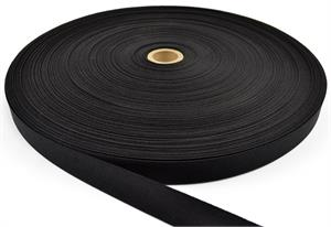 Nylon Webbing Mil-spec A-a-55301 1 Inch-wide Black By-the-roll