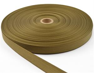 Nylon Webbing Mil-spec A-a-55301 1 Inch-wide Marpat Coyote By-the-roll