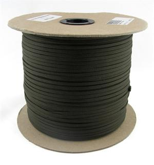 Parachute Cord Nylon 550 Paracord Olive Drab Without Core By-the-spool