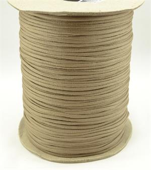 Parachute Cord Nylon 550 Paracord Tan 499 With Core By-the-spool