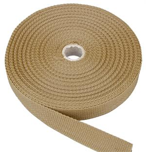 REGULAR-WEIGHT POLYPROPYLENE WEBBING 1 INCH-WIDE BEIGE Wholesale