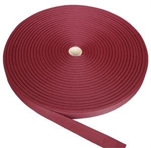 REGULAR-WEIGHT POLYPROPYLENE WEBBING 2 INCH-WIDE MAROON Wholesale