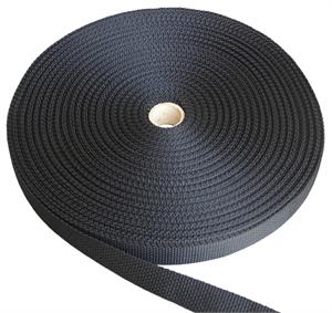 REGULAR-WEIGHT POLYPROPYLENE WEBBING 1 INCH-WIDE NAVY Wholesale