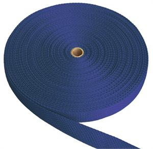 REGULAR-WEIGHT POLYPROPYLENE WEBBING 1 INCH-WIDE ROYAL By-The-Yard