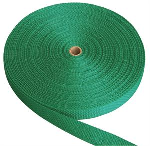 REGULAR-WEIGHT POLYPROPYLENE WEBBING 1 INCH-WIDE TEAL By-The-Yard