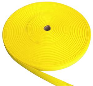 REGULAR-WEIGHT POLYPROPYLENE WEBBING 1 INCH-WIDE YELLOW Wholesale
