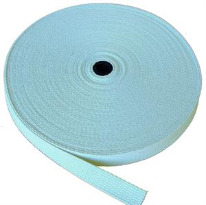 REGULAR-WEIGHT COTTON WEBBING 1 INCH-WIDE BLUE By-The-Yard