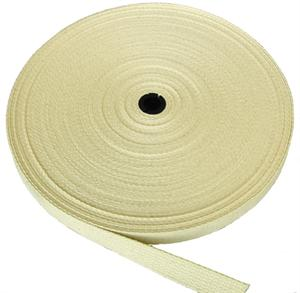 REGULAR-WEIGHT COTTON WEBBING 1-1/2 INCH-WIDE NATURAL By-The-Yard
