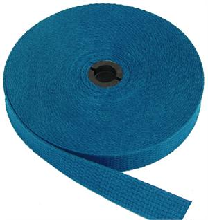REGULAR-WEIGHT COTTON WEBBING 1 INCH-WIDE ROYAL By-The-Roll