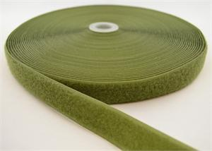 Sew-on Nylon Fastener Tape Olive Drab 1 Inch-wide Loop Wholesale