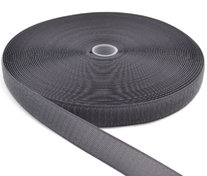 Sew-on Nylon Fastener Tape Dark Gray 2 Inch-wide Hook Wholesale