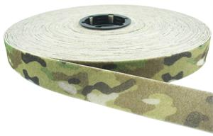 SEW-ON NYLON FASTENER TAPE MULTICAM LOOP 1-1/2 INCH-WIDE Wholesale