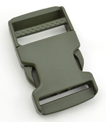 Single-adjusting Made In USA Side-release Buckles 1-1/2 Inch-wide Ranger By-the-bag