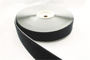 Stick-on Acrylic-base Pressure Sensitive Nylon Fastener Tape Black 2 Inch-wide Loop Wholesale