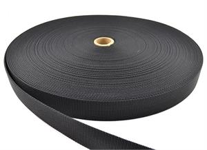 HEAVY NYLON WEBBING 1-1/2 INCH-WIDE BLACK Wholesale