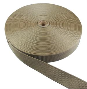 Heavy Nylon Webbing 1-1/2 Inch-wide Marpat Coyote Brown By-the-roll