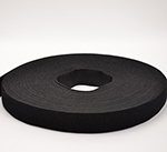 One-wrap Hook And Loop 1 Inch-wide Black Wholesale