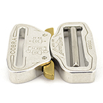 Cobra Interlocking Metal Buckle 1-3/4 Inch-wide Polished By-the-bag