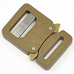 Switch Cobra Interlocking Metal Buckles 1 Inch-wide Coyote Single-pieces