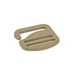 Metal G-hook 1 Inch-wide Marpat Coyote Single Pieces