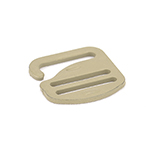 Metal G-hook 1 Inch-wide Tan 499 By-the-bag