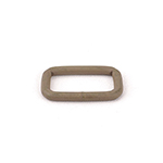 Metal Rectangular Loops 9 Gauge Welded 1 Inch-wide Marpat Coyote By-the-bag