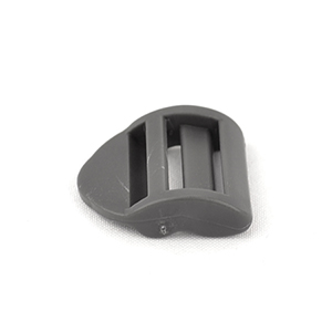 Heavy Ladder Locks USA 1 Inch-wide Wolf Gray Single Pieces