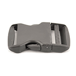 Single-adjusting Made In USA Side-release Buckles 2 Inch-wide Wolf Gray By-the-bag