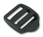 B-DB-01 1000 Black Plastic Double Bar Slide