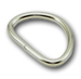 B-DR-02 0500 Silver Metal D-Ring