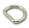 B-DR-02 0625 Silver Metal D-Ring